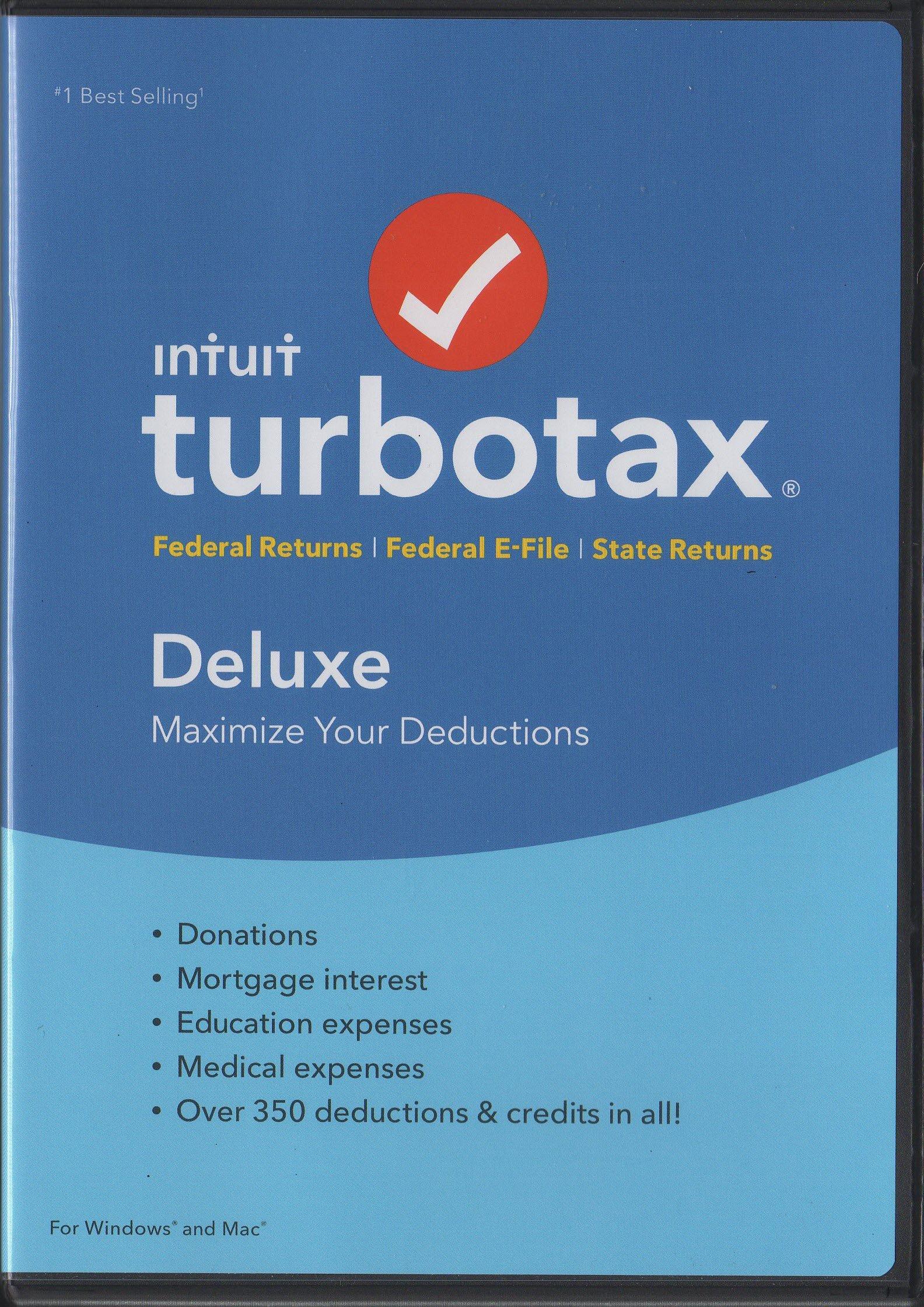 turbotax deluxe deals