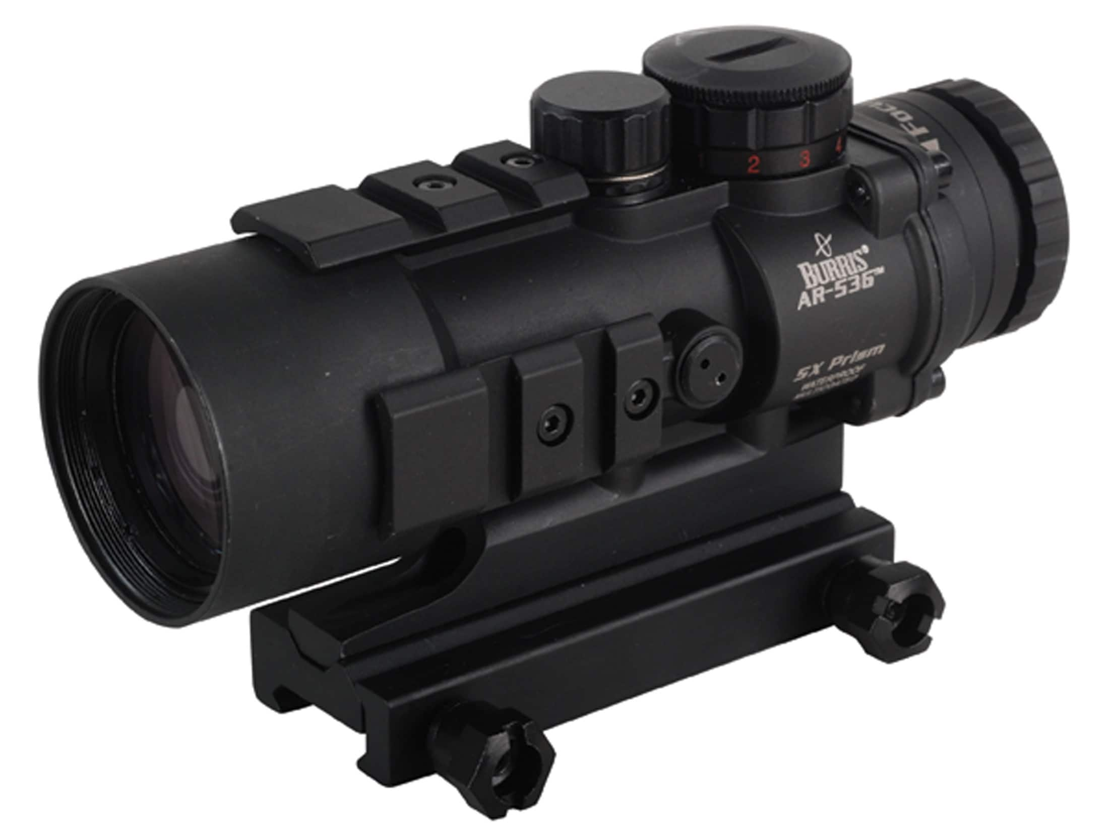 Burris AR-536 5x 36mm Prism Sight Ballistic CQ Reticle Matte with Lens Covers!! $199.99