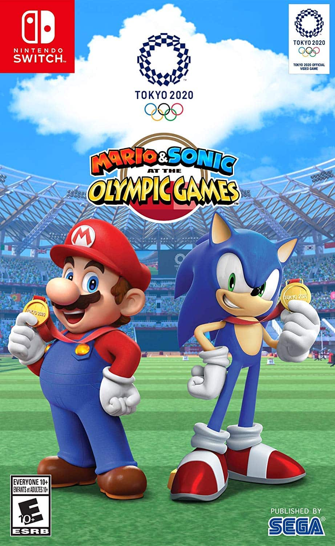 Mario & Sonic at the Olympic Games: Tokyo 2020, Sega, Nintendo Switch $35 + FS @Walmart