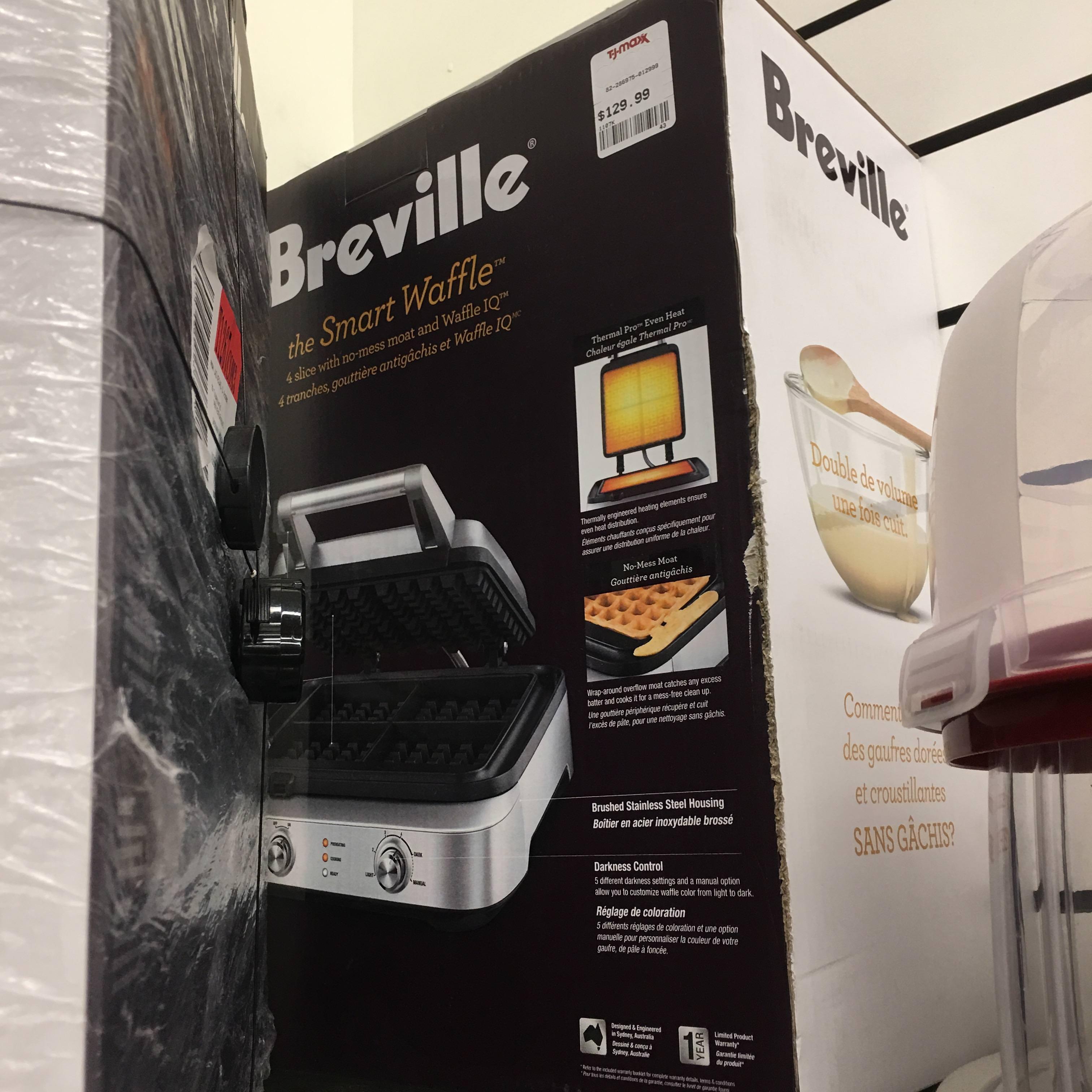 Breville Smart Waffle Maker - $129 @ TJMaxx B&M YMMV $129.99