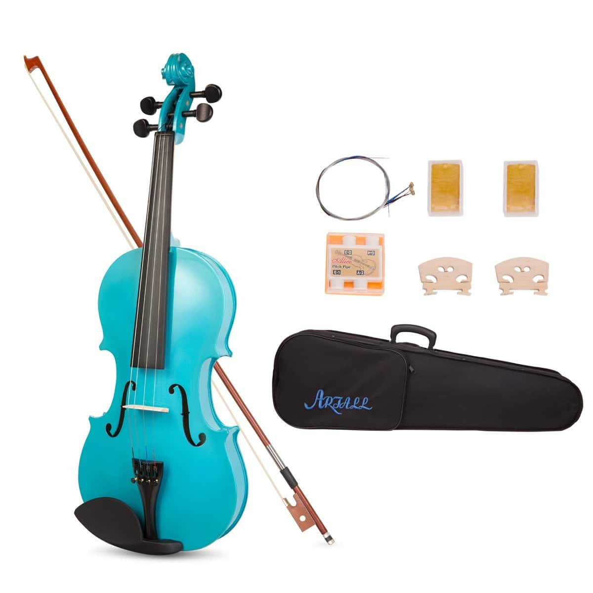 Acoustic Violin Starter Kit with Case, Bow & Accessories $39.99 AC