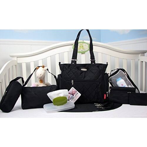 Diaper Bag : 9 Piece Set $22.79 AC + FS w/ Prime