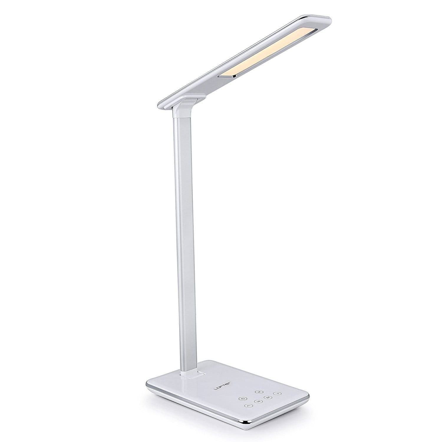 Dimmable Touch Control Panel LED Desk Lamp Foldable Table Lamps USB Charging $16.79 AC FS w/Amazon Prime