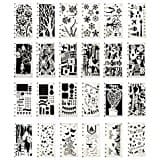 24 Pack Plastic Stencil Set $5.99 + FS (Prime)