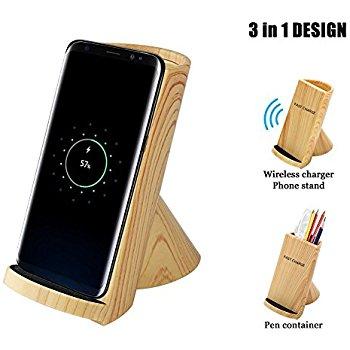 Qi fast wireless charge pad $10.79 + FS (Prime)