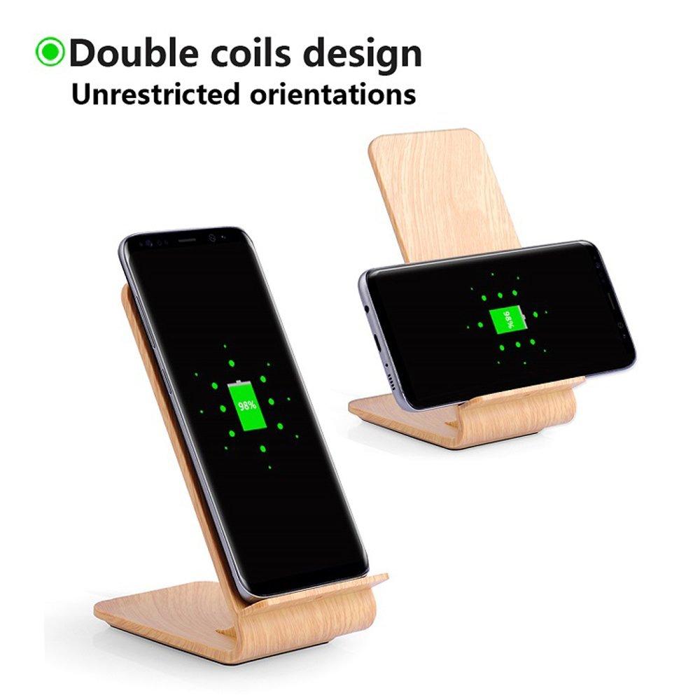 Qi fast wireless charge pad $6.79 + FS (Prime)