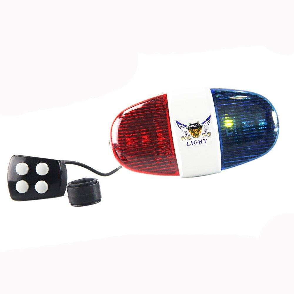 Bicycle Police LED Light  Siren $5.39 + FS (Prime)