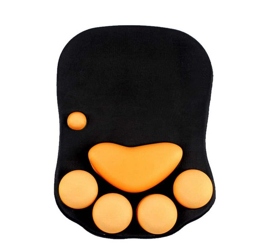 Cat Paw Silicone Wrist Rest Mouse Pad $5.82 + FS (Prime)