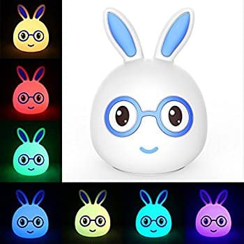 Rechargeable Silicone Bunny LED Night Light $5.49 + FS (Prime)