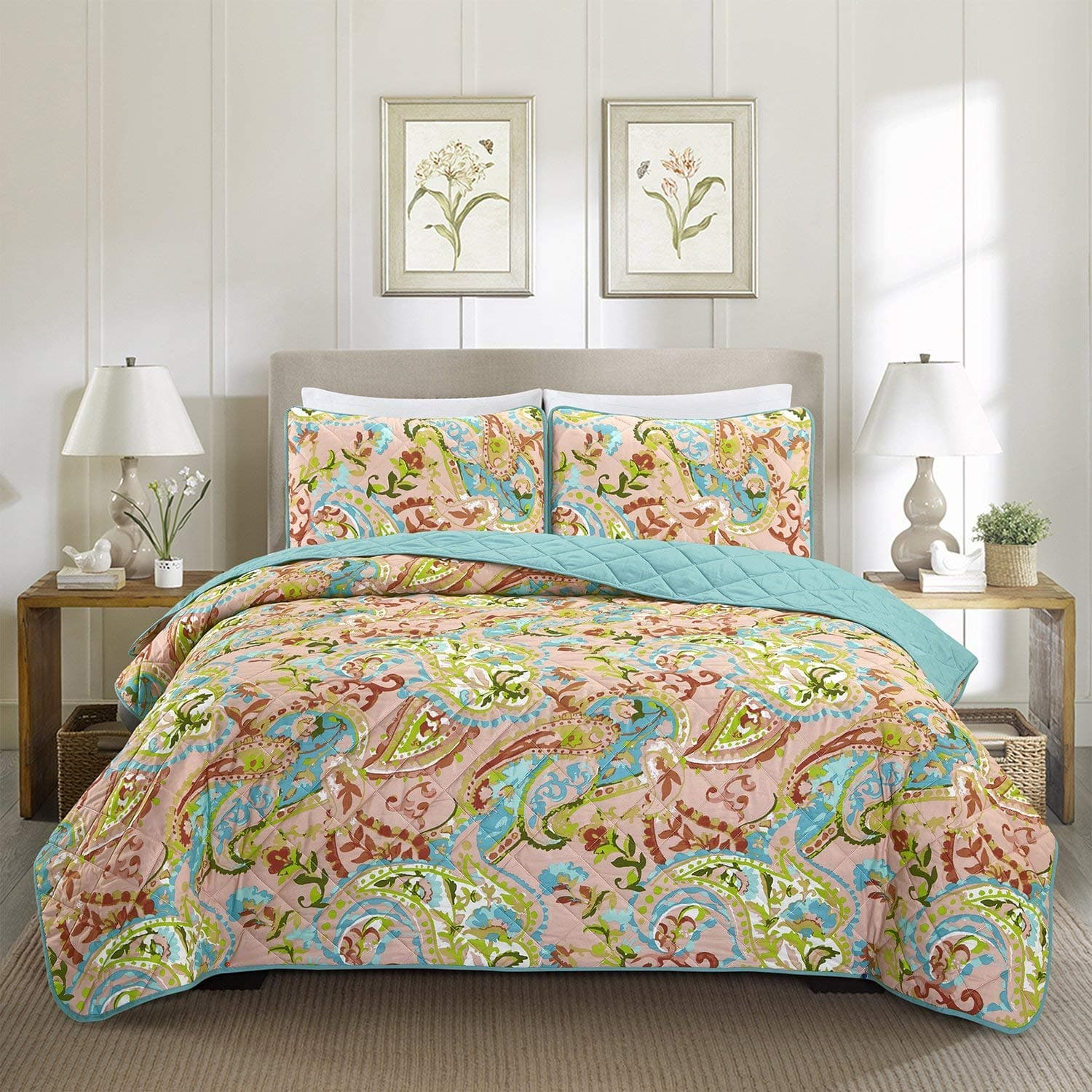 Quilt Bedding Sets $13.50 AC + FS (Prime)