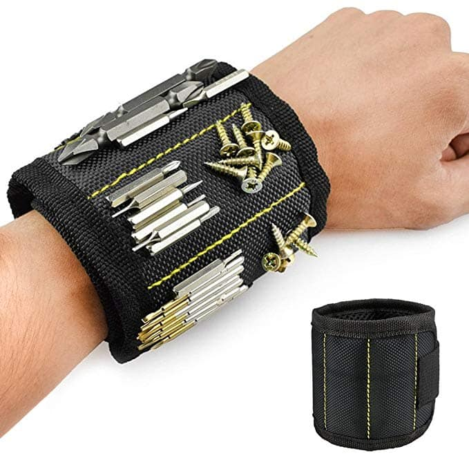 Magnetic Wristband Screw Tool Holder $4.20 AC + FS (Prime)