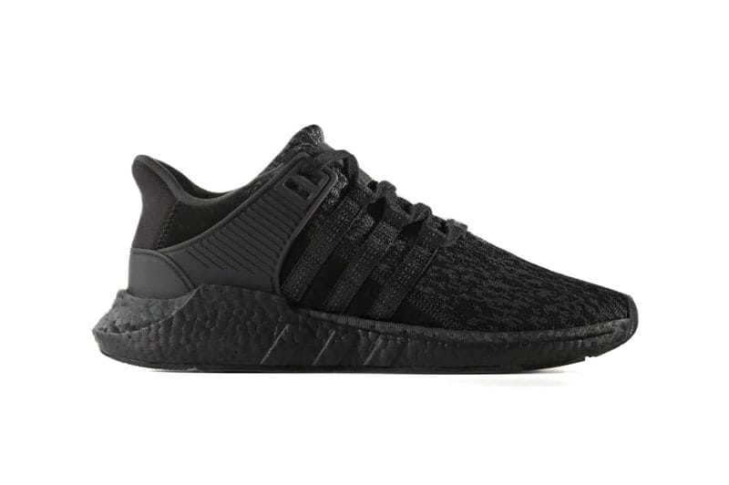 Adidas EQT Boost 93/17 Black/Black $106 AC SUM18 at PacSun
