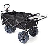 Black collapsible wagon on Amazon.com $109.45