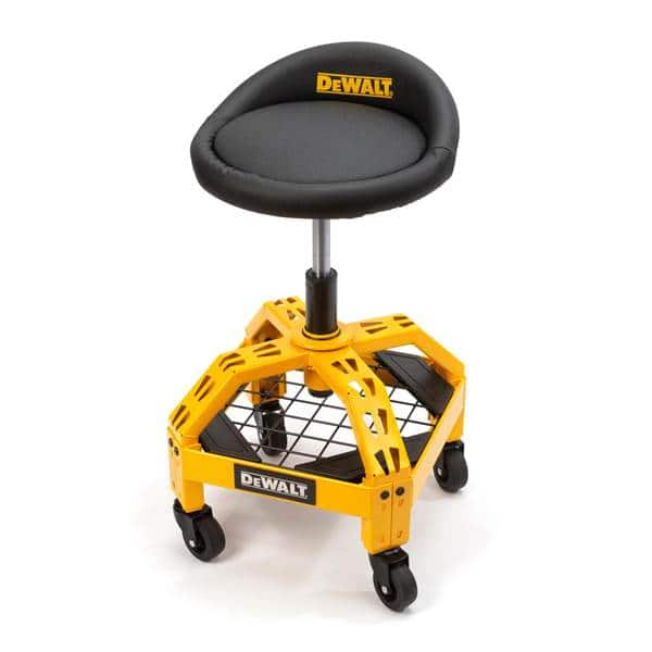 DEWALT Foam Padded Shop Stool with Casters - 41562 | Blain's Farm & Fleet