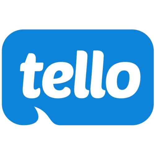 Tello: Unlimited Texting & 100 Mins  -  $5 Month