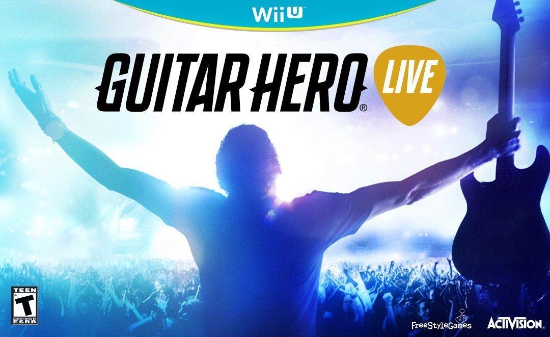 Guitar Hero Live w/ Guitar - Wii U $36.08