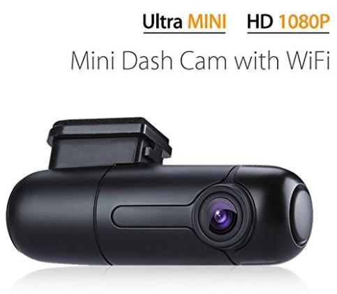 B1W WiFi Mini Dash Cam Car Camera Vehicle Video Driving Recorder 360 Degree Rotatable Lens 1080p $32.99 + FS
