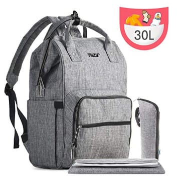 Multi-Function Waterproof Diaper Bag Backpack $14.99