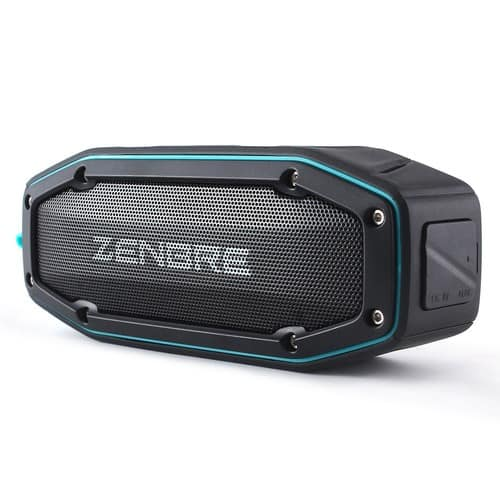 Bluetooth Speakers, ZENBRE D6 2x5W Wireless Portable Speakers V4.1 with Waterproof IPX6, 18h Play-time, Super Loud Sound with Bass Resonator $29.99
