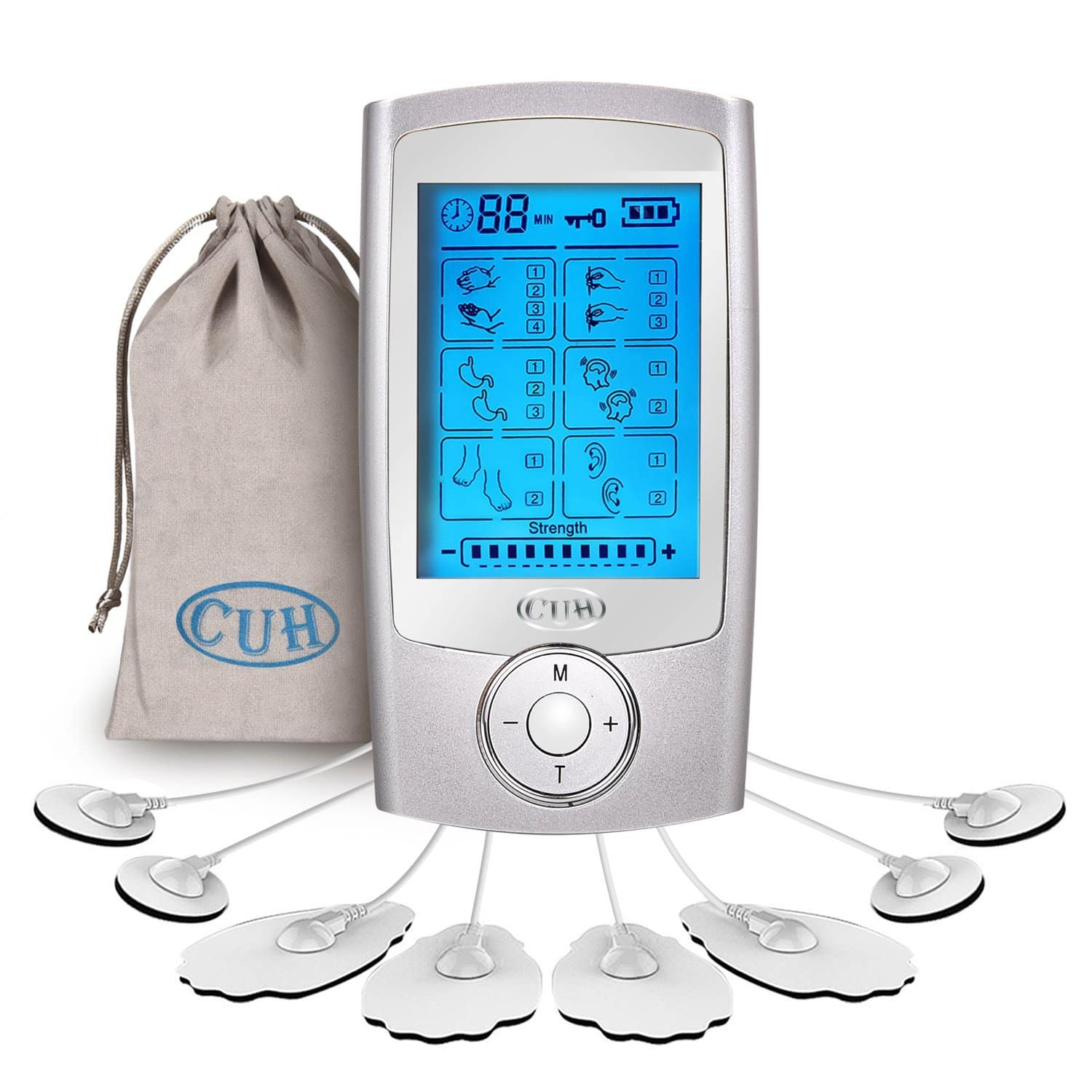 16 Modes Rechargeable TENS Unit Portable Electronic Pulse Massager for Pain Relief $20.29