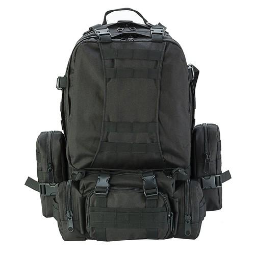 50L Outdoor Military Rucksacks Tactical Backpack Assault Pack Combat Backpack Trekking Bag [Black] $26.99