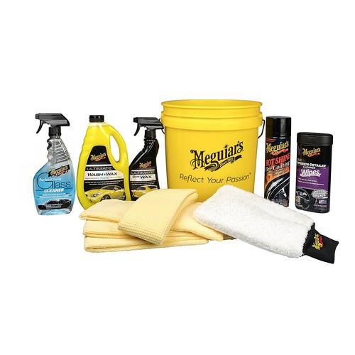 Meguiar's G55146 Essentials Car Care Kit $50.68 +FS@amazon