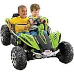Fisher-Price Power Wheels Dune Racer 12-Volt Battery-Powered Ride-on, Green - $228