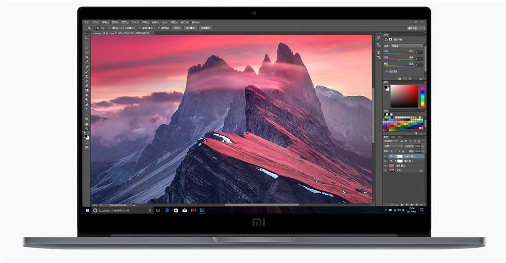 "Mi Notebook Pro 15.6"" Fingerprints Intel Core i5-8250U 3.4GHz 8GB RAM 256GB SSD $829.99"