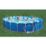 "Intex 24' x 52"" Metal Frame Swimming Pool Walmart $499"