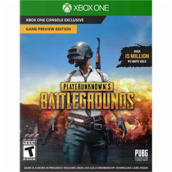 Playerunkown's Battlegrounds – Game Preview Edition for Xbox One (Gold Members Only)