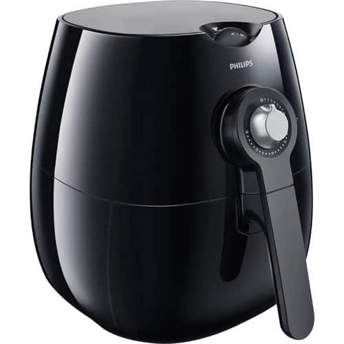 Philips - Viva Collection Analog Air Fryer - Black - Model HD9220/29 - $69.99 - Save ~$130.00 from Bestbuy.com