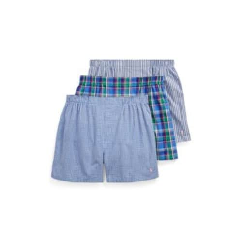 Woven Cotton Boxer 3-Pack for $19.80