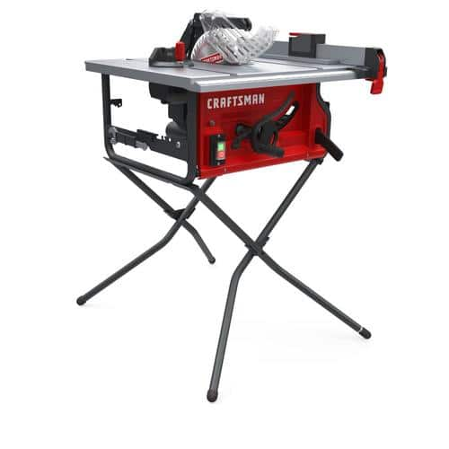 CRAFTSMAN 10-in Carbide-Tipped Blade 15-Amp Table Saw $159