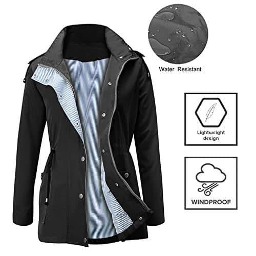 special selection of a few days away superior performance Raincoats Waterproof Lightweight Rain Jacket Active Outdoor ...
