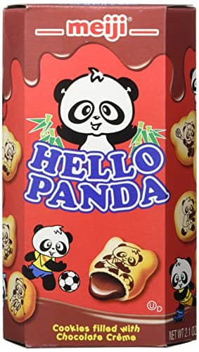 10-Pack 2.1-Oz Meiji Hello Panda Cookie (Chocolate) $10.59 ($1.06 each) + Free Shipping w/ Prime or on orders over $25