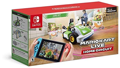 Mario Kart Live: Home Circuit for Nintendo Switch (Luigi Set) $75 + Free Shipping