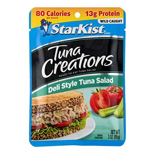 12-Pack 3-Oz StarKist Tuna Creations Deli Style Tuna Salad Pouches $9.77 ($0.81 each) w/ S&S + Free Shipping w/ Prime or on orders over $25
