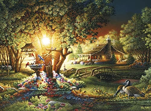1000-Piece Buffalo Games Jigsaw Puzzle: Terry Redlin Colours of Spring, Twillight Marketplace $7 + Free Shipping w/ Prime or on orders over $25