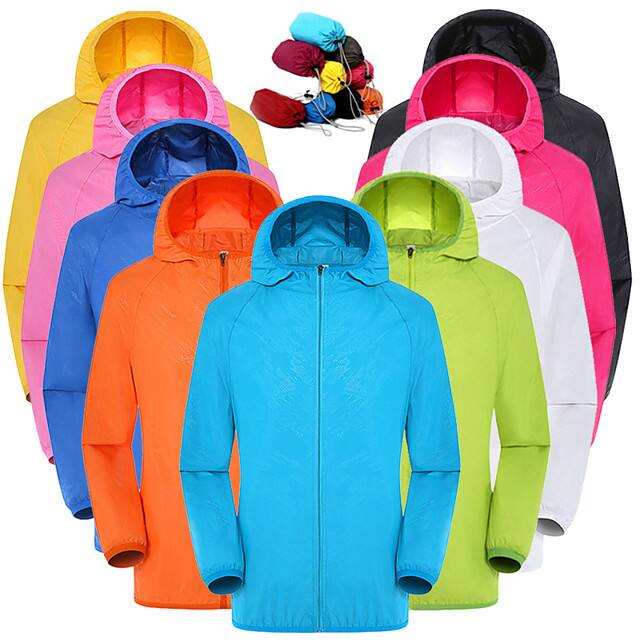 Men's or Women's Rain Jackets (10 Colors) 2 for $14.38 ($7.19 each) + Free Shipping
