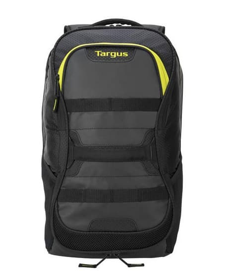 """15.6"""" Targus Work + Play Fitness Backpack (Black/Yellow) $28 + Free Shipping"""