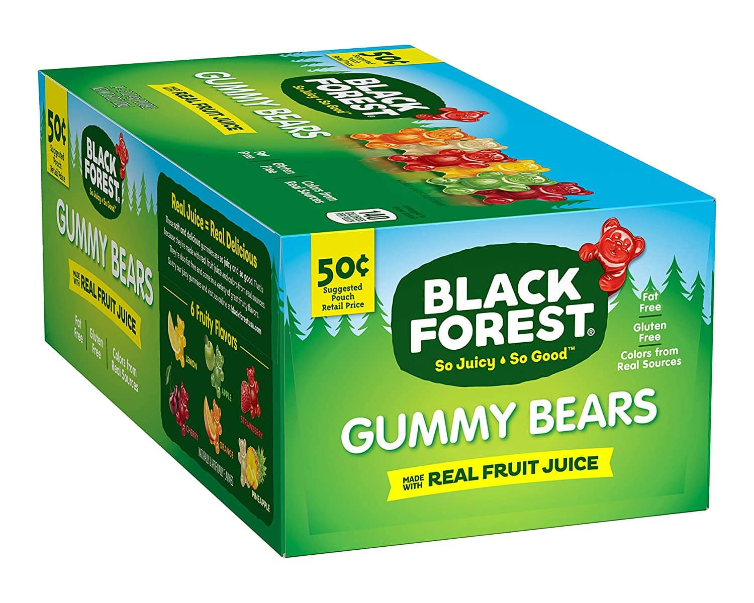 24-Count 1.5-Oz Black Forest Gummy Bears $6.76 ($0.28 each) w/ S&S + Free Shipping w/ Prime or on orders over $25