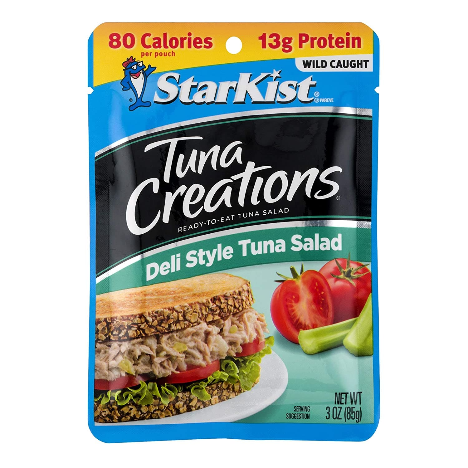 12-Pack 3-Oz StarKist Tuna Creations Deli Style Tuna Salad Pouches $11.29 ($0.94 each) w/ S&S + Free Shipping w/ Prime or on orders over $25