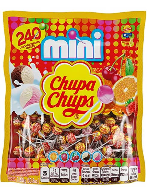 240-Count Chupa Chups Cremosa Ice Cream Mini Lollipops (Assorted Flavors) $9 w/ S&S + Free Shipping w/ Prime or on orders over $25