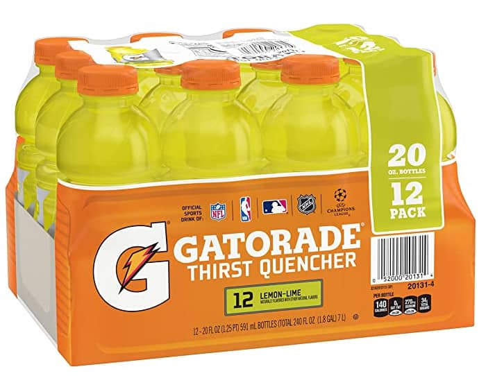 12-Count 20-Oz Gatorade Thirst Quencher (Lemon-Lime) $7.38 ($0.62 each) w/ S&S + Free Shipping w/ Prime or on orders over $25