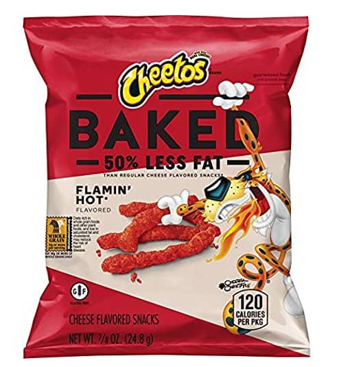 40-Count 0.875-Oz Baked Cheetos Flamin' Hot Chips $12.10 ($0.30 each) w/ S&S + Free Shipping w/ Prime or on orders over $25