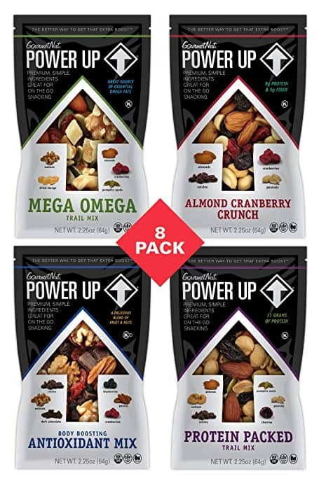 8-Count 2.25-Oz Power Up Trail Mix (Variety) $7.27 ($0.91 each) w/ S&S + Free Shipping w/ Prime or on orders over $25