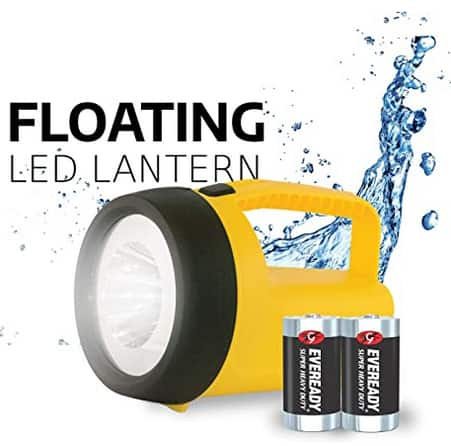 Eveready LED Floating Lantern Flashlight w/ Batteries $4.97 + Free Shipping w/ Prime or on orders over $25