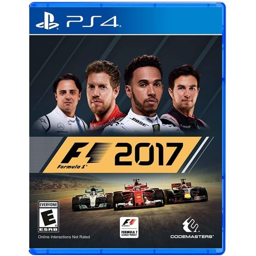 F1 2017 - PlayStation 4 [Disc, Standard Edition, PlayStation 4] For $19.99