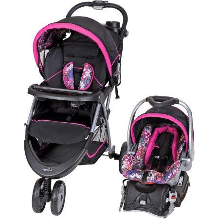 Baby Trend EZ Ride 5 Travel System, Floral Garden $139