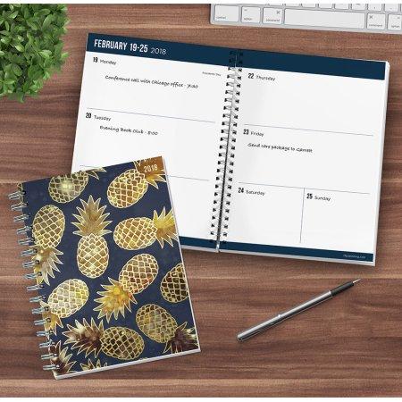 2018 Pineapples Medium Weekly Monthly Planner 33% markdown now $9.95!